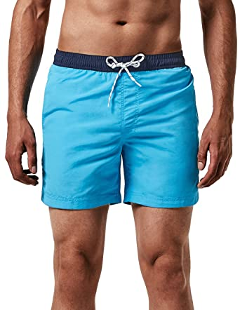 a63f4033e1 MaaMgic Men's Swimming Trunks Quick Dry Fit Performance Surfing Short with  Pockets, 2glm-2