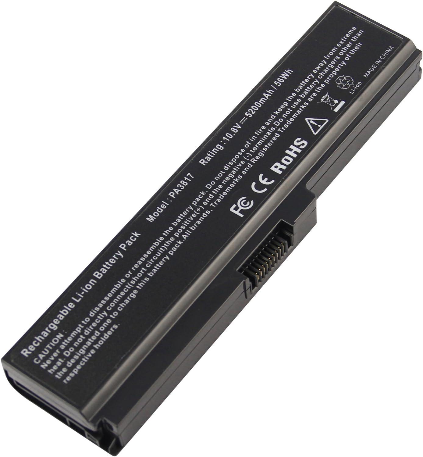 Laptop Battery PA3817U-1BRS PA3818U-1BRS PA3819U-1BRS for Toshiba Satellite C655 C675 C675D L645 L645D L655 L655D L675 L675D L745 L755 L755D P745 P755 P775 M645 A660 A655 PA3817U Series Battery