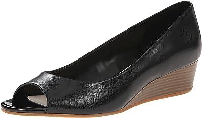 Womens Shoes Cole Haan Elsie Ot Wedge II Black