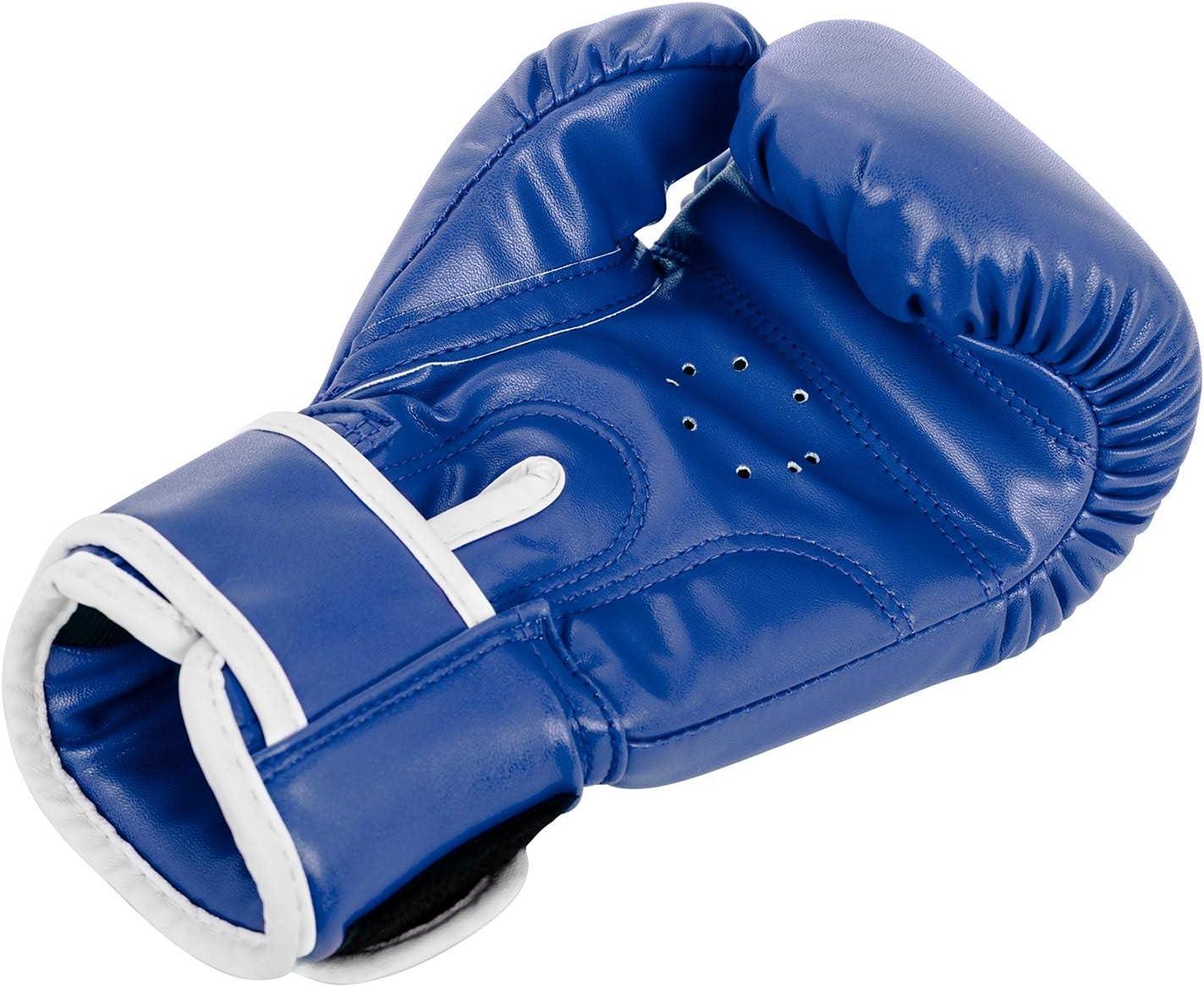 Gymrex Boxhandschuhe Kinder Jugend Boxen Handschuhe Boxsport