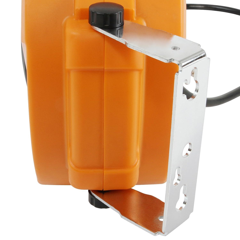 8 bar Autom/ático con Soporte para Pared Enrollador de Manguera Autom/ático de Longitud 10 m Carrete para Manguera de Aire Comprimido Presi/ón M/áx Carrete para Compresor