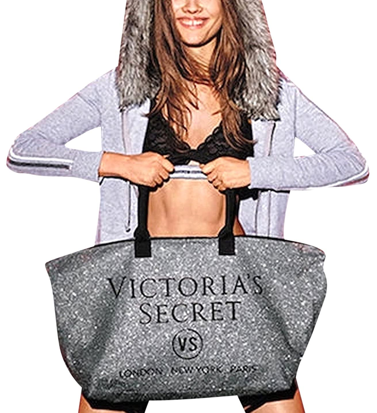 Holiday 2015 Limited Edition Victorias Secret Popup Weekender Tote Bag