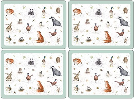 Pimpernel Set of 4 Large Corked Backed Heat Resistant WRENDALE Placemats