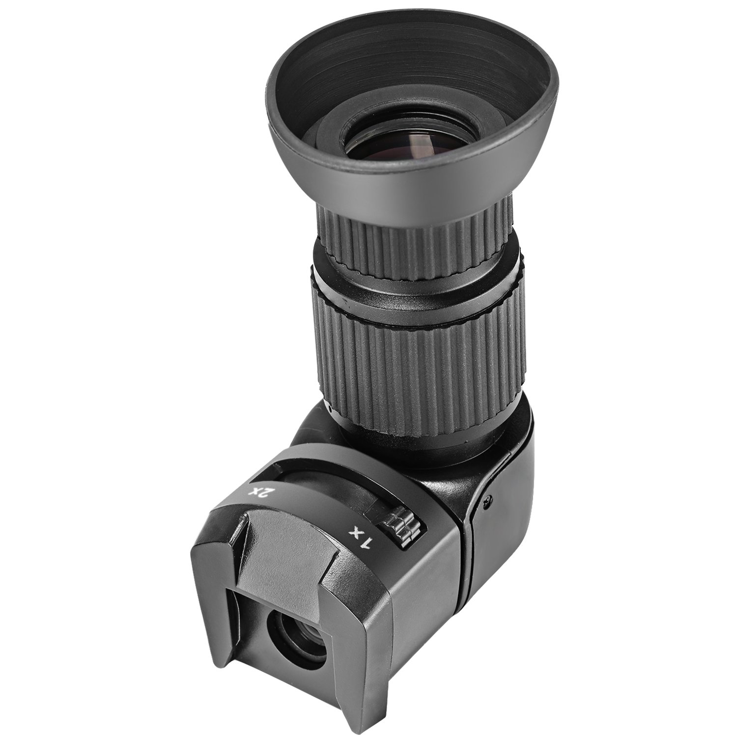 Neewer Perfect 1x-2x Right Angle Viewfinder for Canon, Nikon, Sony, Pentax, Panasonic and Other Digital SLR Cameras by Neewer