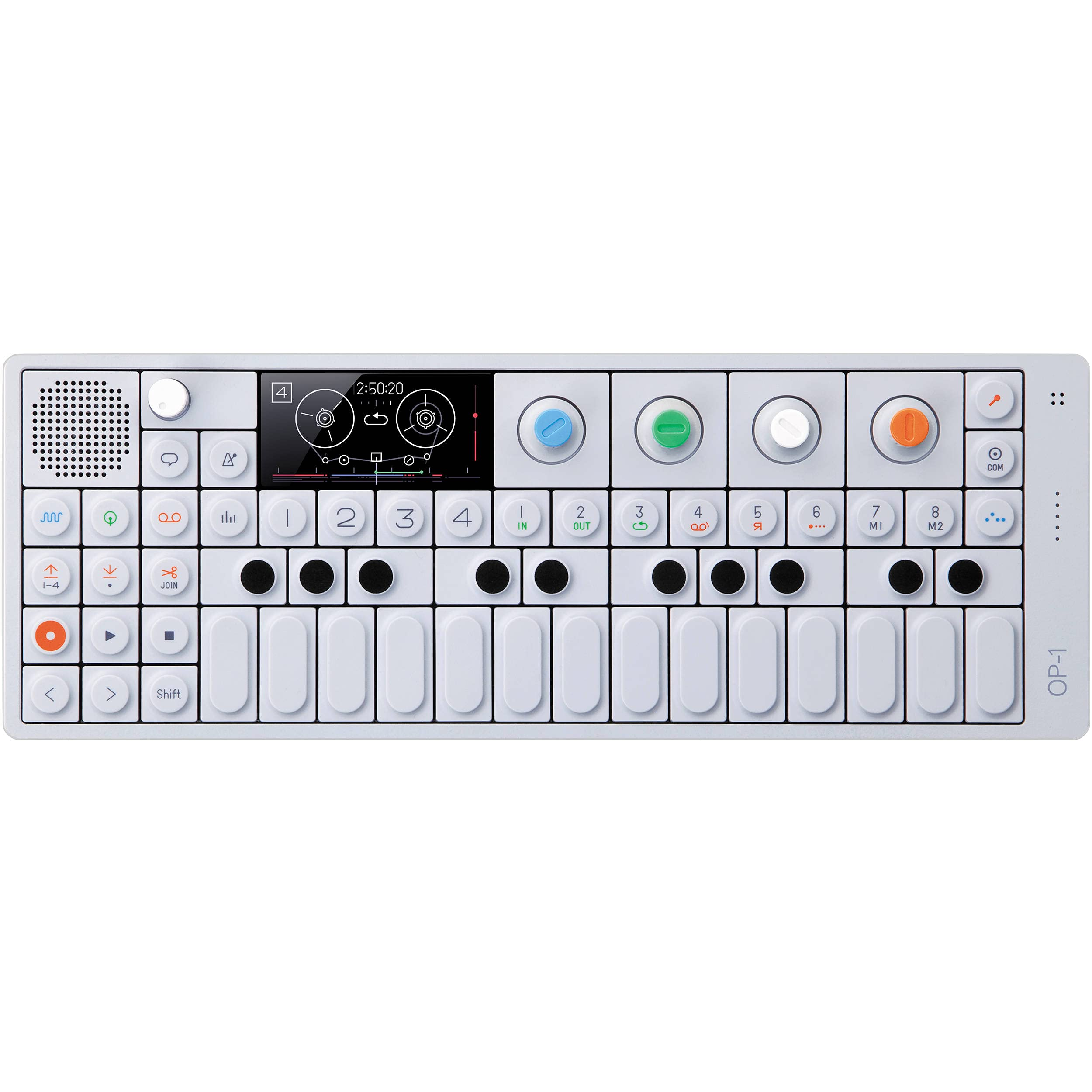 Teenage Engineering OP-1 Portable Synthesizer, Sampler, and Controller with Built-In FM Radio and 4-Track Tape Recorder - 10 Year Anniversary Edition