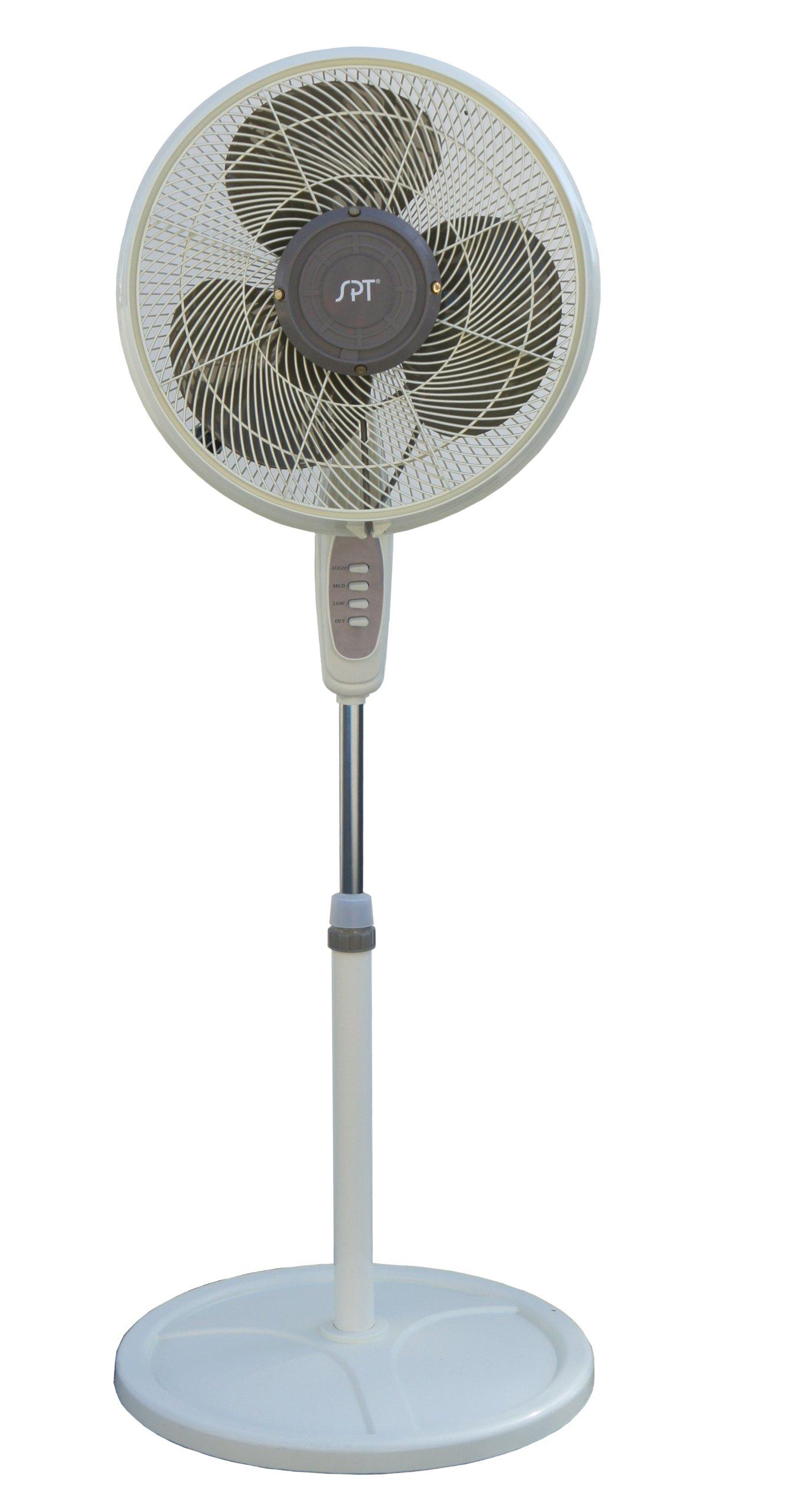 SPT 16'' Outdoor Misting Fan, Multi by SPT