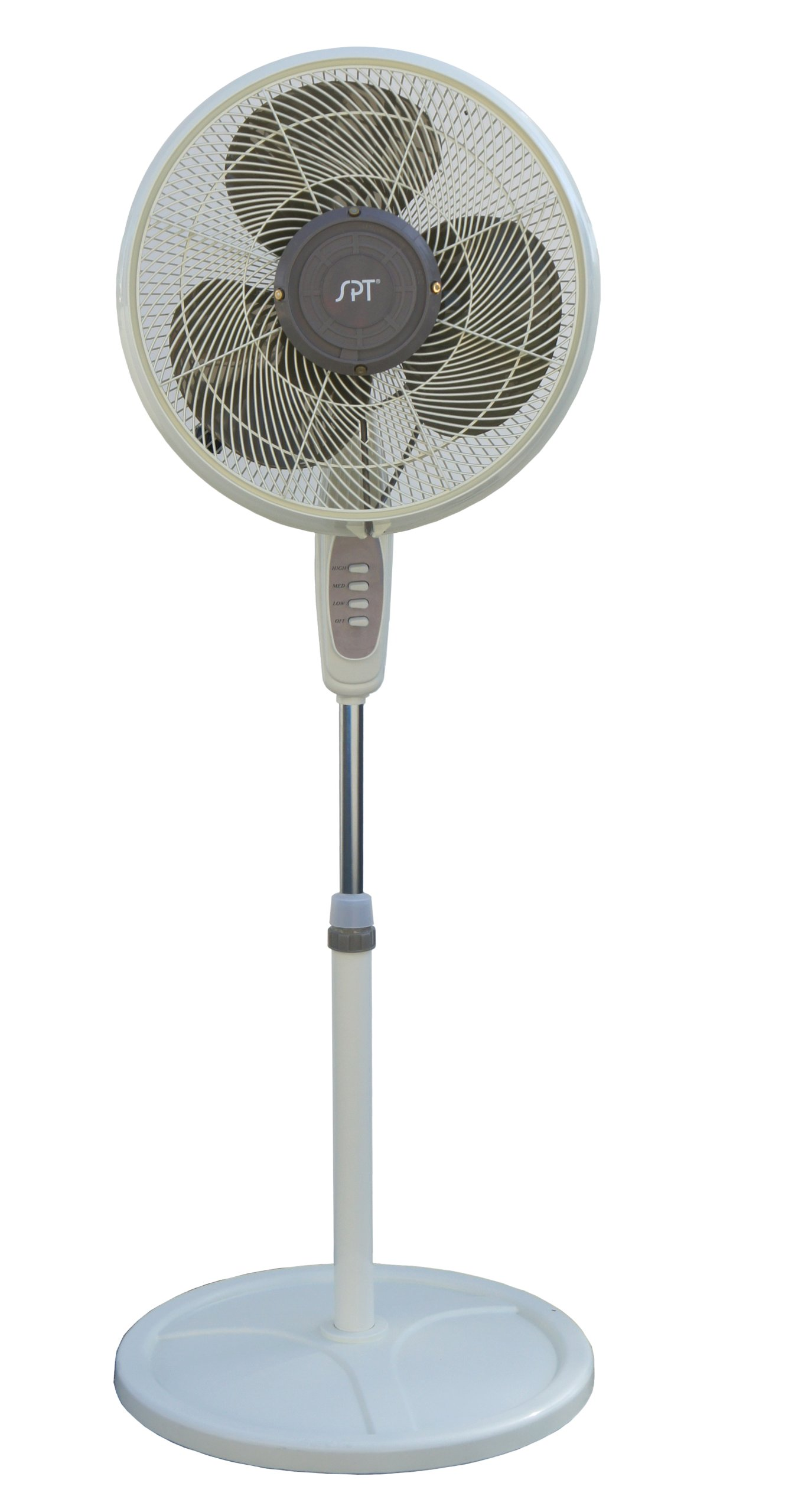SPT SF-1666M Oscillating Misting Fan, 16-Inch