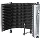 Neewer NW-5 Foldable Adjustable Portable Sound Absorbing Vocal Recording Panel, Aluminum Acoustic Isolation Microphone…