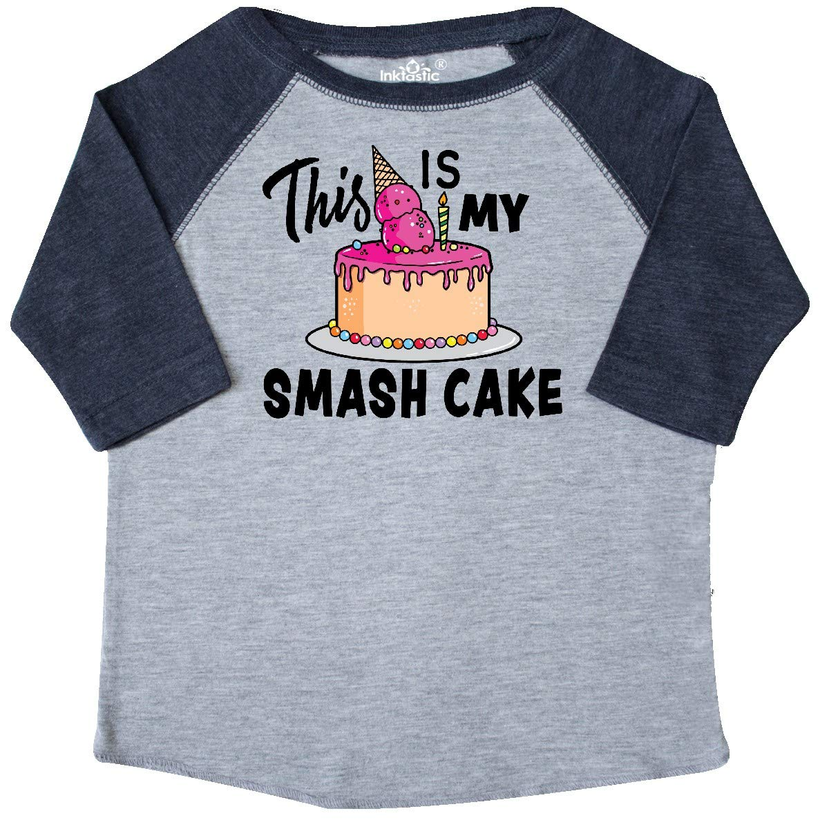 inktastic This is My Smash Cake Toddler T-Shirt