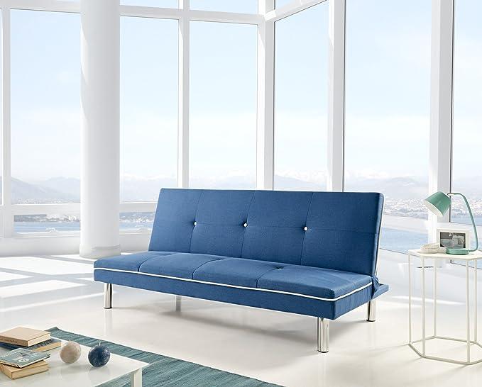CHANCE FURNITURE Cambia Tus Muebles - Sofa Cama Sol Azul ...