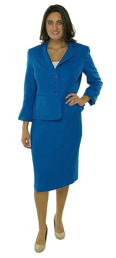 1940sStyleDressesandClothing Agent Carter Style Skirt & 3 Button Suit Dark Pool Blue $119.99 AT vintagedancer.com
