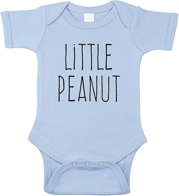 Little Peanut Infant Baby Bubble Romper Onesie Bodysuit Short Sleeve Jumpsuit Blue