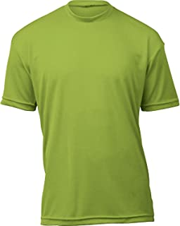 product image for WSI Microtech Loose Short Sleeve Shirt, Neon Green, Medium