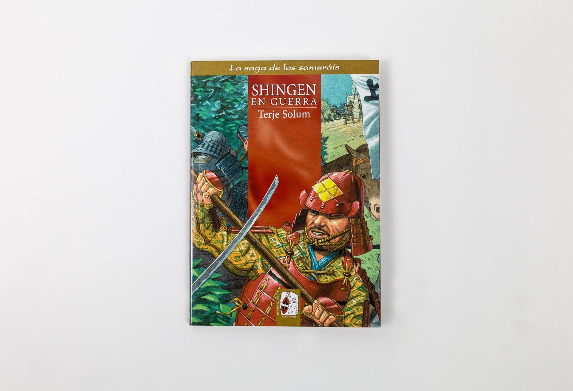 Shingen en guerra: Terje Solum: 9788494392283: Amazon.com: Books