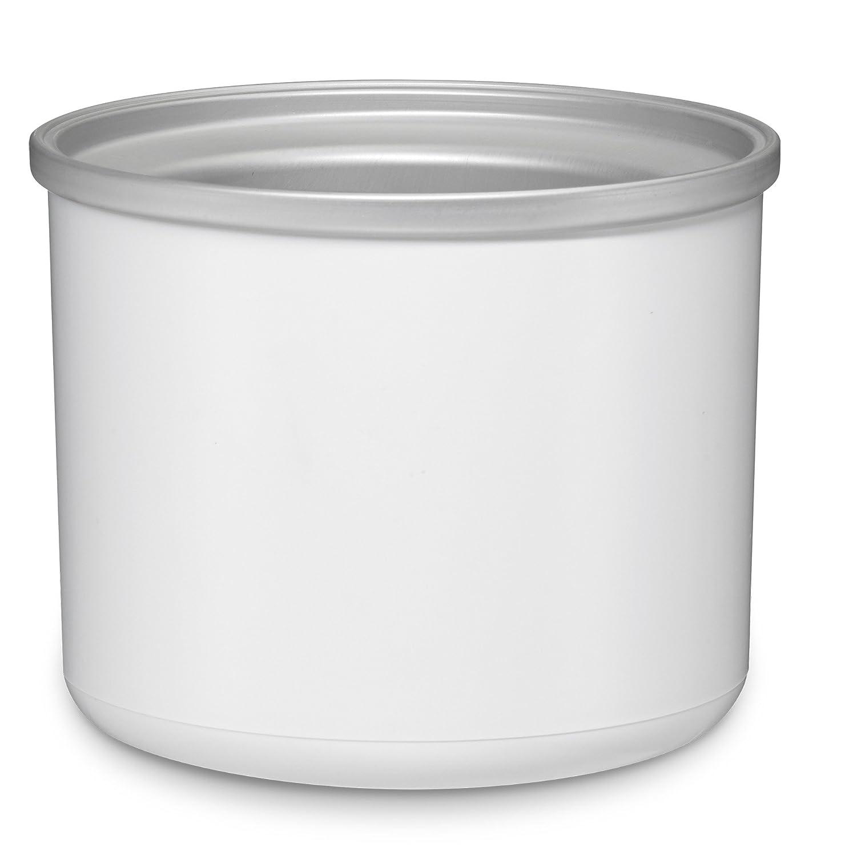 Cuisinart ICE-31RFB Replacement Freezer Bowl, 1-1/2 quart, White
