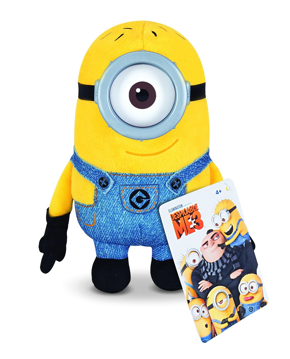 Plush Buddy Minion Carl Toy Figure