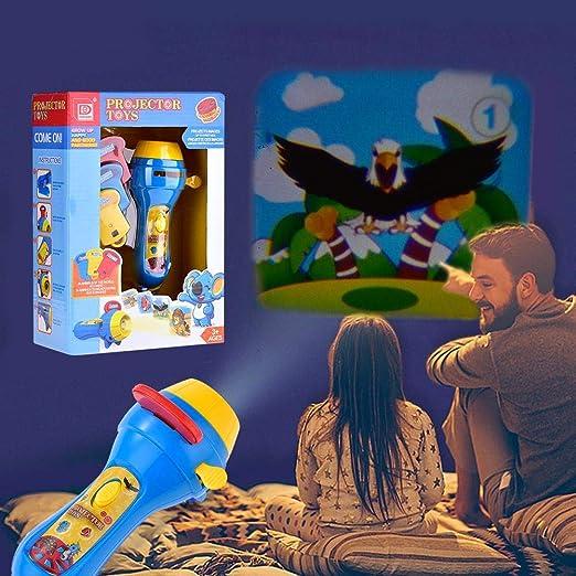 Mini proyector antorcha niños linterna libro de cuentos educativos ...