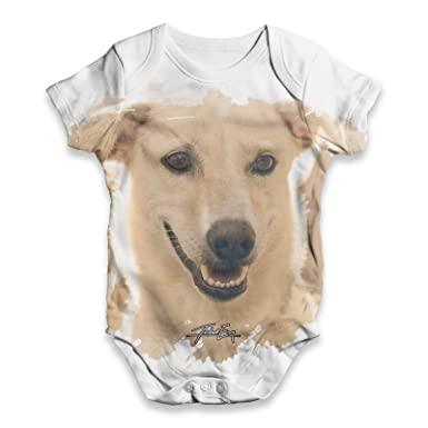 Amazon Com Twisted Envy Golden Labrador Baby Unisex All Over Print