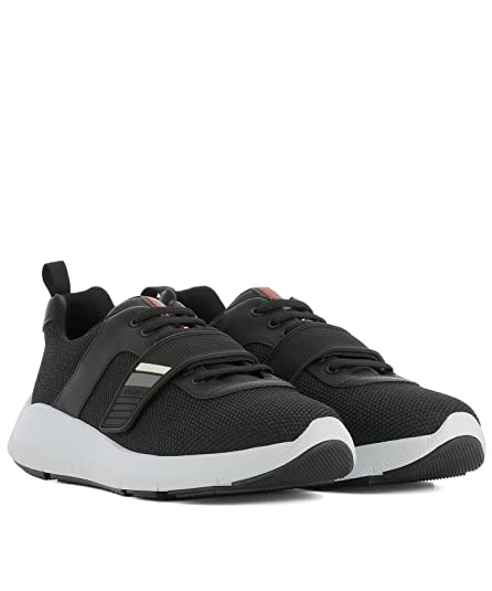 Prada Sneakers Uomo 4E317410sjf0002 Tessuto Nero UOsMViPo9
