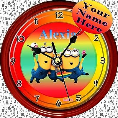 Amazon Com Spongebob Squarepants Plastic Wall Clock Home