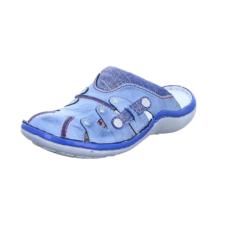 KRISBUT Tobillo Bajo de Piel Mujer 38 EU|Azul