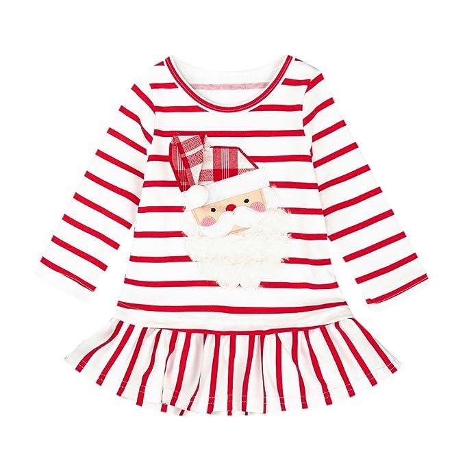 Vestido de Fiesta Navidad para Bebé Niñas Mangas Largas Otoño Invierno 2018 Moda Boda PAOLIAN Faldas