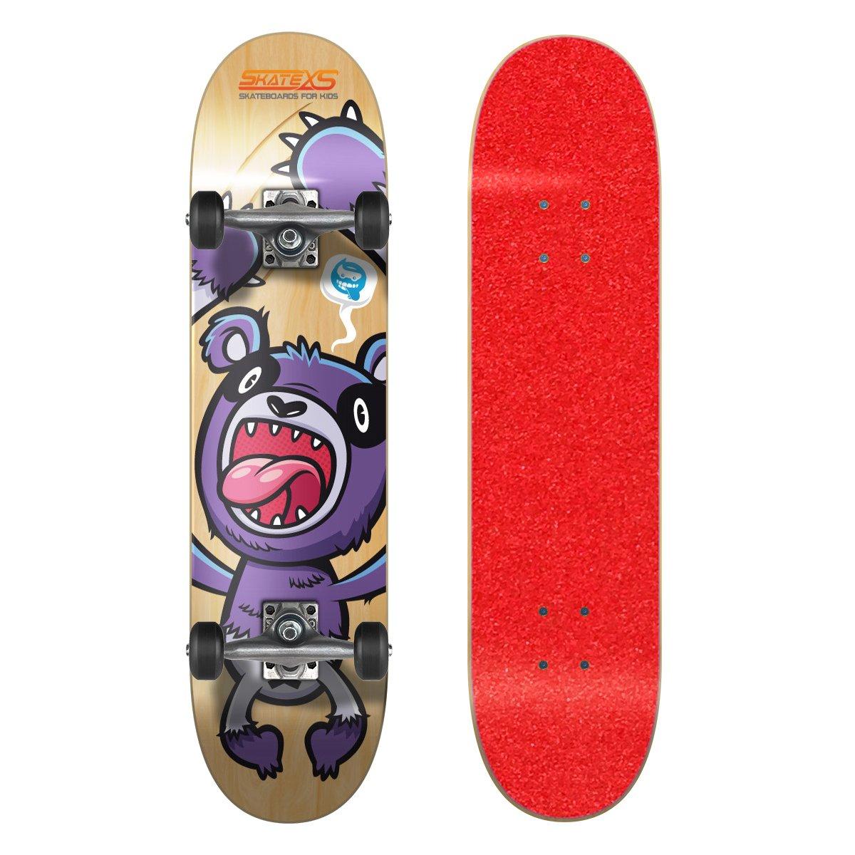 人気の春夏 SkateXS 初心者 パンダ/ ストリート Black キッズ スケートボード B00YG1W39U Red 7.4 x 30 (Ages 11-12)|Red Grip Tape/ Black Wheels Red Grip Tape/ Black Wheels 7.4 x 30 (Ages 11-12), かんてい局 横浜港南店:e02c4482 --- a0267596.xsph.ru