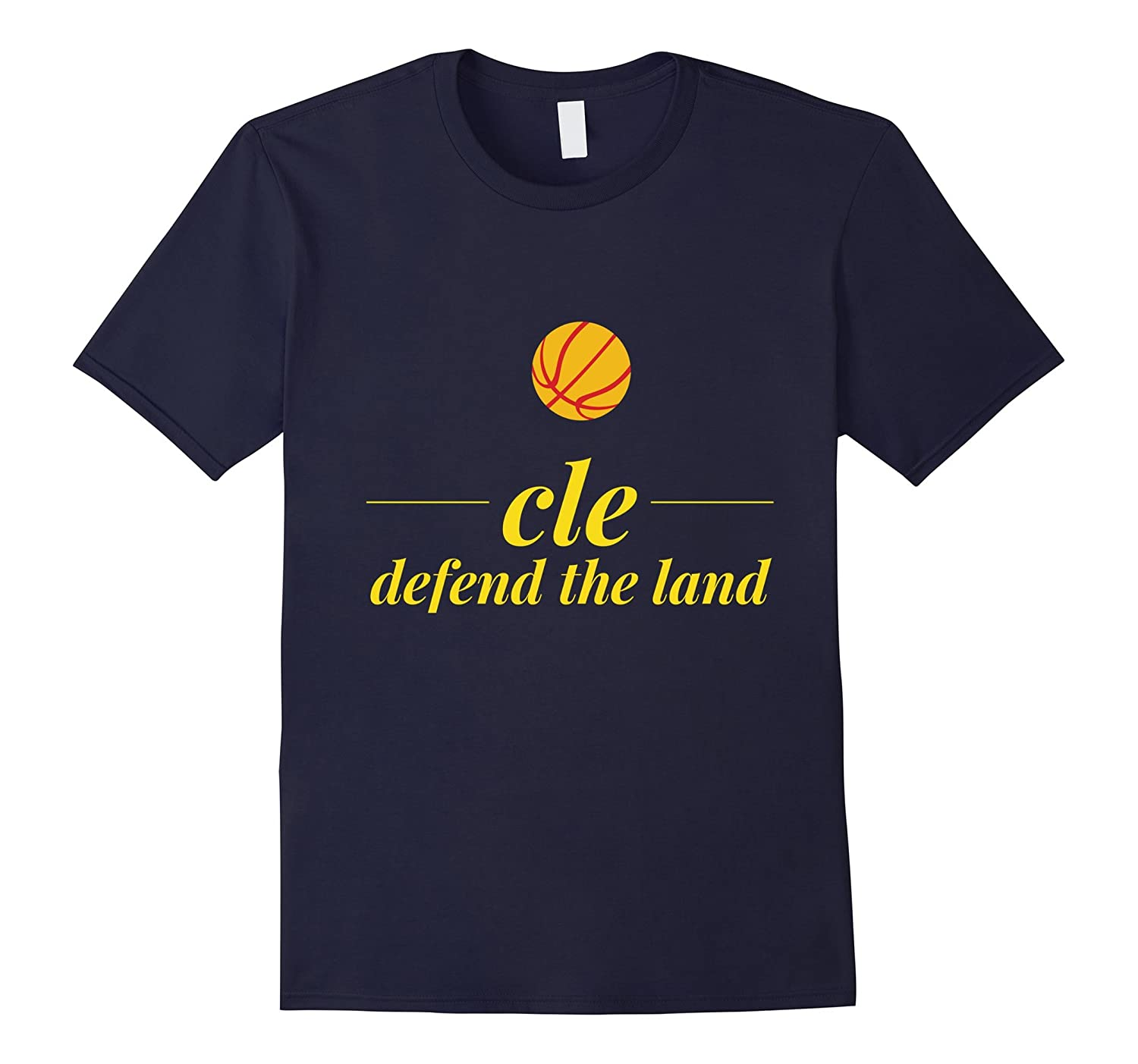 CLE - Defend The Land Cleveland Throwback T-Shirt-TH