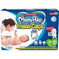 Fralda-Calça MamyPoko Tamanho P, 46 unidades
