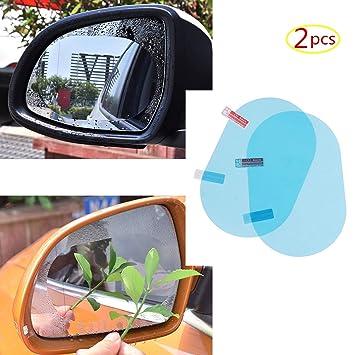 Auto-anbau- & -zubehörteile 2pcs Auto Anti Wassernebel Film Anti Fog Waterproof Rückspiegel Schutzfolien