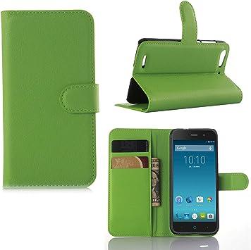 Guran® Funda de Cuero Para ZTE Blade V6 Smartphone Tirón de ...