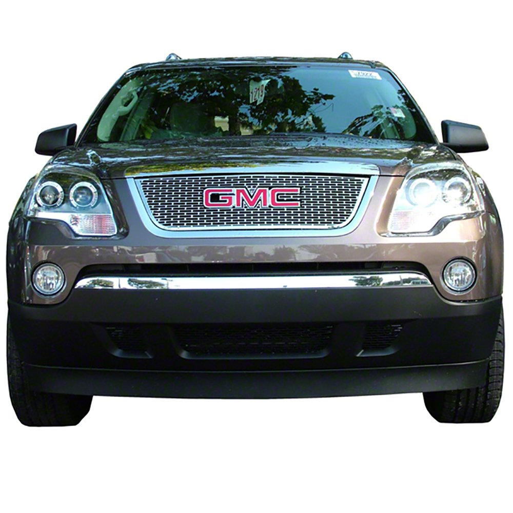 Truck SUV Front Grille Inserts Overlay Trim for 2007-2012 GMC Arcadia-Chrome Snap On Mesh Screen Car Van /& Jeep Replacement Accessories