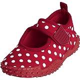 Playshoes Aquaschuhe, Badeschuhe Punkte mit UV-Schutz 174776 Mädchen Aqua Schuhe