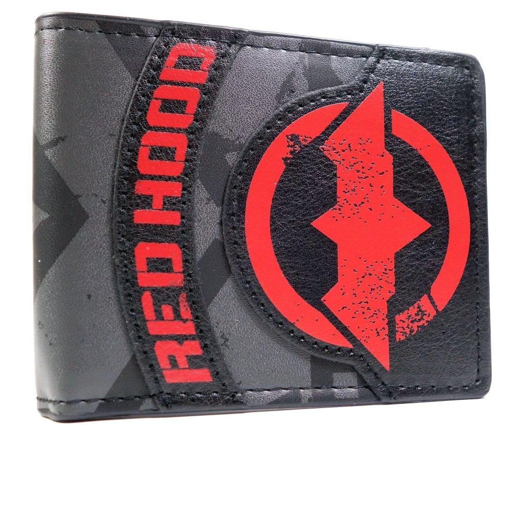DC Comics Batman Red Hood Black ID & Card Bi-Fold Wallet