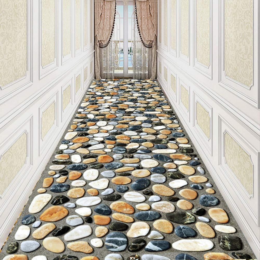 QiangDa Läufer Läufer Läufer Flur Teppich Langes 3D Entry Teppiche Steinmuster Schmutzabweisend Nicht Skid Schneidbar, Mehrere Größen, Anpassbare (Farbe   A, größe   1 x 2m) B07KFJ1C9Q Lufer 7db976