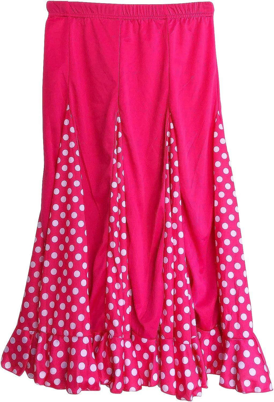 La Señorita - Falda de Baile para niños, diseño de Flamenco, Color ...