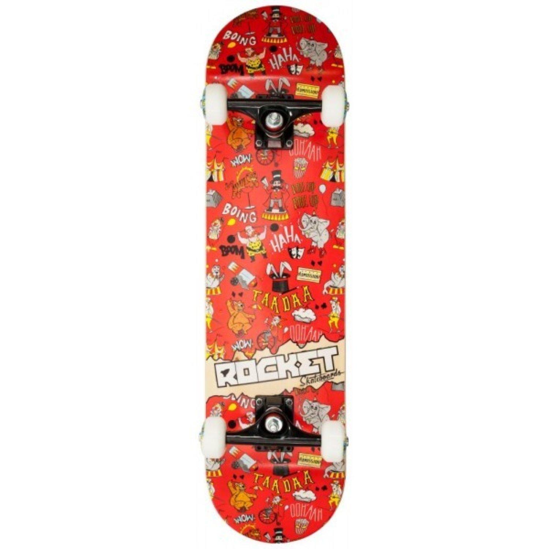 de Rocket Skateboards Patinete Completo Papel de Pared ...