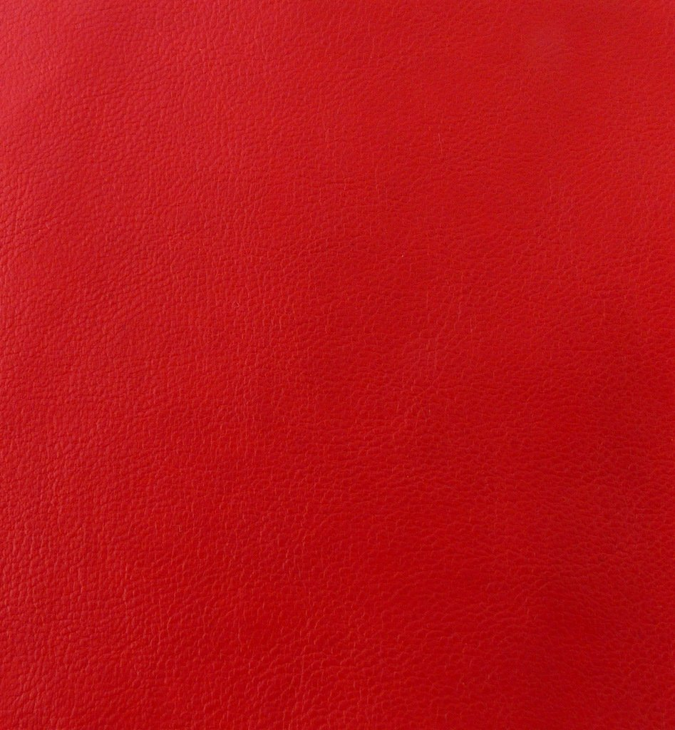 FIRE ENGINE RED FAUX LEATHER LEATHERETTE MATERIAL LIGHT STRETCH LEATHERCLOTH CLOTHING UPHOLSTERY FABRIC PER 1 METRE X 140 I Want Fabric