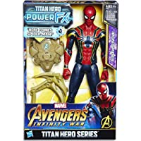 Avengers: Infinity War Titan Hero Power FX Spider-Man Figür