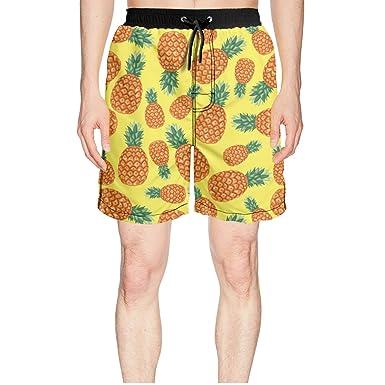 e8d54dc302 Amazon.com: Ananas Pineapple Tropical Fruit Pattern Designer Swim ...