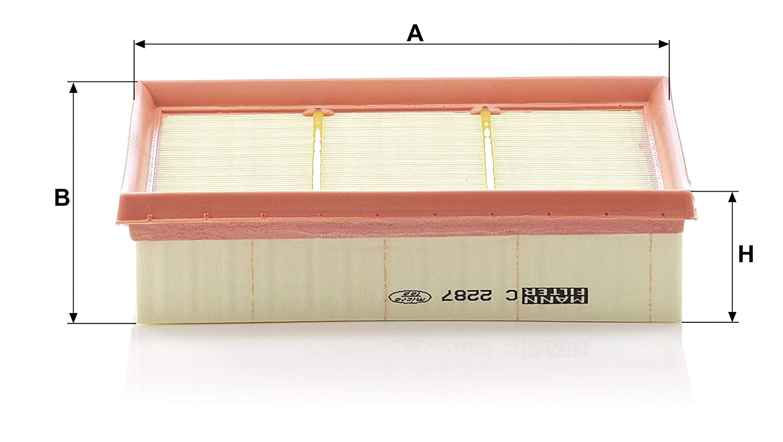 Para autom/óviles MANN-FILTER C 2287 Original Filtro de Aire