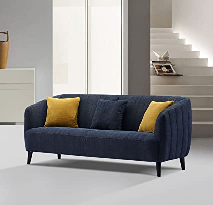 Attrayant Diamond Sofa Sofa In Midnight Blue