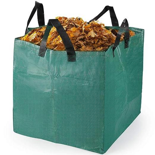 Bolsas para desechos de jardín 1 PCS Saco para residuos Bolsas de Basura de jardín y Saco de jardín Extra Resistente Plegable Bolsas de Jardin Hechas ...