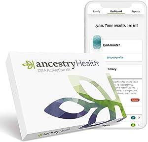 AncestryHealth: Genetic Ethnicity + Traits + Health (Unavailable in NY, NJ, RI, or Guam)