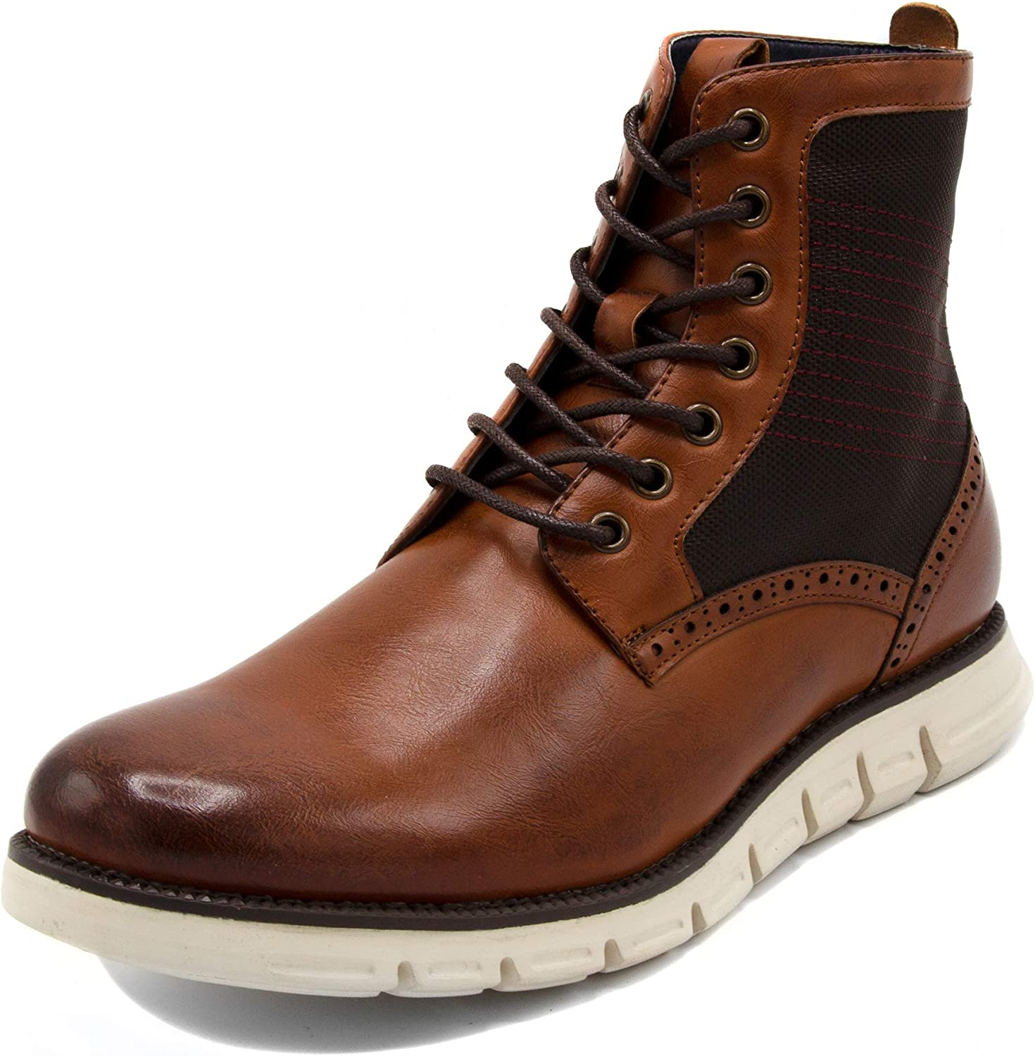 Nautica Mens Lace Up Boot - Chukka Derby Boots for Men - Lightweight Mid Ankle Hiker Boots - Fashion Dress Mens Chukka Boot - Palmetto Mid