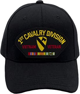 Patchtown 1st Cavalry Division - Vietnam Veteran Hat Ballcap Adjustable One  Size Fits Most 9e78f621e539