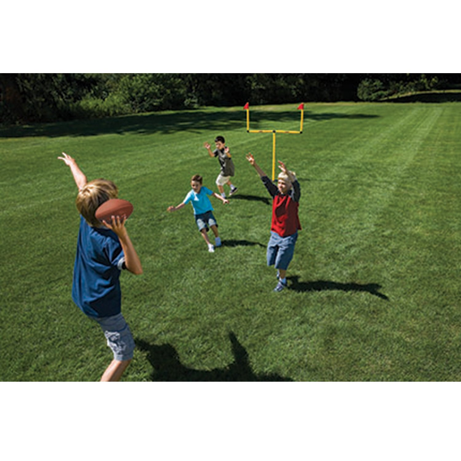 Amazon Franklin Sports Youth Football 2 Goal Post Set