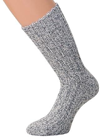 Norwegian Thick Winter Socks 2 pairs Mens Chunky Wool Socks