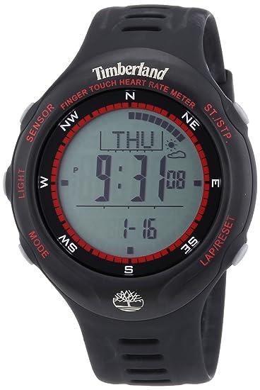Timberland TBL.13386JPBB/01 - Reloj digital de cuarzo para hombre con correa de