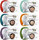 Purely Fancy Feast Variety Box - 6 Flavors, 2 oz Each (2 of Each Flavor - 12 Total)